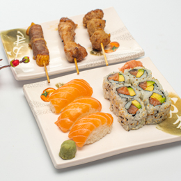 California Sushi brochettes